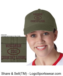 NEW for 2013!  WCL Baseball Caps Design Zoom