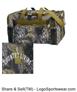 Mossy Oak Duffle Bag Design Zoom
